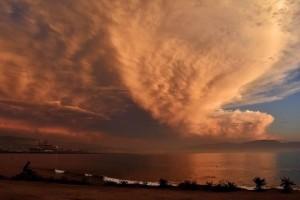 Η φωτογραφία της ημέρας: Ηλιοβασίλεμα στην Καλιφόρνια!