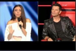 The Voice: Η 17χρονη Κρητικιά που... χόρεψε τον Σάκη Ρουβά! (video)