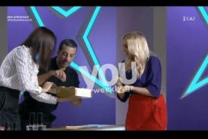 My Style Rocks 2: 'Αστραψε το μάτι της Σπυροπούλου με τα...γλυκά που είδε! (video)