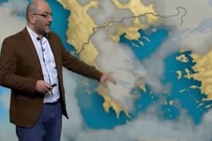 Σάκης Αρναούτογλου: Μετά την ψυχρή εισβολή έρχεται η... θερμή! Τι καιρό θα κάνει την 28η Οκτωβρίου; (video)