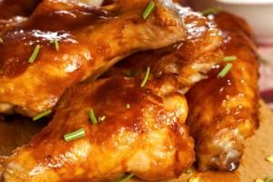 Μπουτάκια κοτόπουλου με σάλτσα μουστάρδας!
