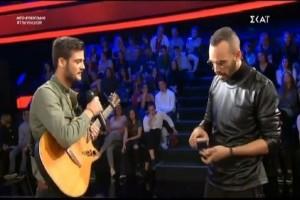 The Voice: Δεν μας τα 'χες πει αυτά... Παπατζής ο Μουζουράκης! (video)