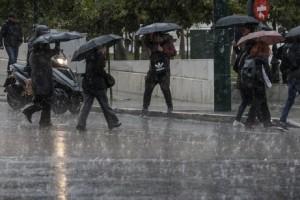 Έρχονται βροχές και καταιγίδες σήμερα, Δευτέρα! - Πέφτει η θερμοκρασία!