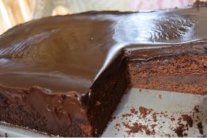 Ζουμερή σοκολατόπιτα!
