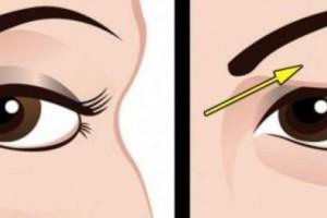 Πεσμένα βλέφαρα: Πως να τα αντιμετωπίσετε με φυσικό τρόπο!