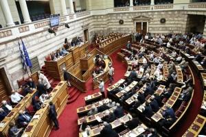 """Βουλευτής της Χρυσής Αυγής στη Βουλή: """"Εκλεγμένος από τον λαό ο Γεώργιος Παπαδόπουλος""""!"""