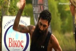 Nomads: Τρομερός εκνευρισμός του Ντιμάρ! Άρχισε να βρίζει και να κλωτσάει τα πάντα (video)