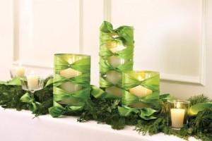 Εύκολες χριστουγεννιάτικες ιδέες για να διακοσμήσετε τα γυάλινα βάζα!