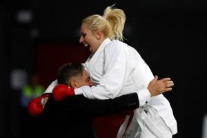 Ελένη Χατζηλιάδου: Παγκόσμια πρωταθλήτρια στο καράτε!