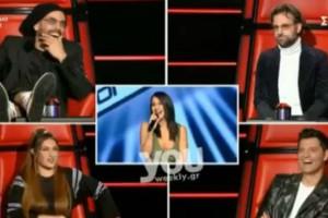 The Voice: Το τρολάρισμα του Μαραβέγια  σε παίκτρια για το τατουάζ της! «Σε βοηθάει να...» (Βίντεο)