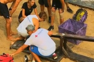 Nomads: Χαμός κατέρρευσε η Ντάρια! Δεν άντεξε και πήγε να κάνει εμετό! (video)