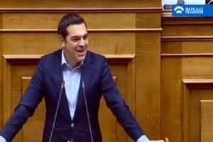 Σπόντες Τσίπρα για Μητσοτάκη: Ελπίζω να μην πήγε ξανά σε καμιά γειτονιά της Αθήνας (video)