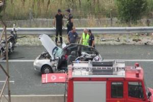 Σφοδρό τροχαίο στην Εγνατία Οδό: Ένας νεκρός και πολλοί τραυματίες!