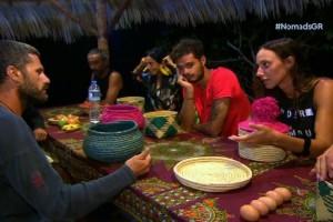 Nomads: Απίστευτος καυγάς στους Επίλεκτους για κάτι... αυγά και μια ζάχαρη! (video)