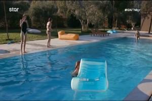 "GNTM: ""Τα πουτ...α στην πισίνα""! Μπινελίκια στο σπίτι! (video)"