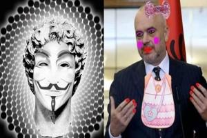 Οι Anonymous Greece γελοιοποιούν τον Ράμα και τους Αλβανούς!