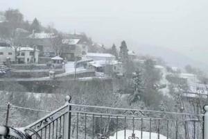 """Η φωτογραφία της ημέρας: Ήρθε η """"Πηνελόπη"""" και έφερε τα χιόνια!"""