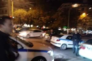 """Ρουβίκωνας: Το """"ντου"""" σε εκδήλωση με την Αχτσιόγλου (photos+video)"""