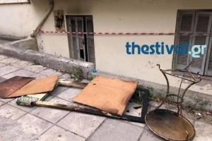 Τραγωδία στη Θεσσαλονίκη: Αυτό είναι το σπίτι που βρέθηκε απανθρακωμένος ο 45χρονος!