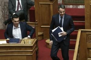 Επικός διάλογος στη Βουλή με Μητσοτάκη - Τσίπρα: «Έλα στην Κυψέλη να δεις τα προβλήματα»! (Video)