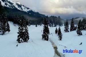 Υπέροχο βίντεο: Τα χιονισμένα Τρίκαλα κατέγραψε drone!