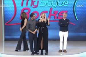 "My style rocks 2: Το ""καρφί"" της Σπυροπούλου στην έναρξη της εκπομπής! (video)"