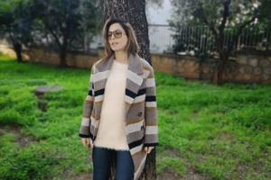 Κατερίνα Παπουτσάκη: Η εγκυμονούσα μας άνοιξε το σπίτι της!