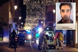 Τρομοκρατική επίθεση στο Στρασβούργο: Επιχείρηση για τη σύλληψη του μακελάρη!