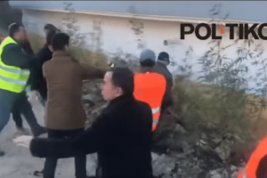 Χιμάρα: Συγκρούσεις κατοίκων με κρατικούς υπαλλήλους!