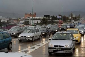 Χάος στους δρόμους της Αθήνας! Απίστευτο μποτιλιάρισμα λόγω βροχής!