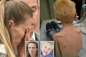 Τα λόγια είναι περιττά: Δείτε τι έκανε μια μητέρα στον 5χρονο γιο της! (photos)