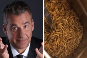 Η απόλυτη αηδία: Ο Γιώργος Λιάγκας τρώει σκουλήκια στην Γερμανία!