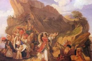 Σαν σήμερα στις 18 Δεκεμβρίου το 1803 οι Σουλιώτισσες χορεύουν τον ηρωικό «χορό του Ζαλόγγου»