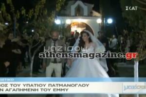 Φασαρίες στον γάμο του Υπάτιου Πατμάνογλου! Τρομερό παρασκήνιο (video)