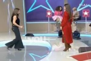 My Style Rocks 2: Δεν θα πιστεύετε τι έκανε η Μπέτυ Μαγγίρα στο πλατό! (video)