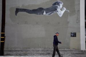 Η φωτογραφία της ημέρας: Μία ιδιαίτερη τοιχογραφία του Τζιμ Μόρισον στην Καλιφόρνια!