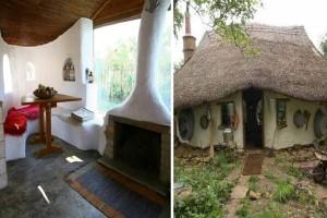 Απίστευτες κατασκευές: Δυο Λαρισαίοι φτιάχνουν με 1500 ευρώ σπίτια από άχυρο και πηλό κι έχουν γίνει ανάρπαστα! (Photos)