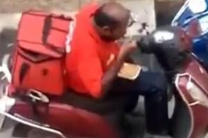 Φίλος ντελιβεράς απολύθηκε γιατί έτρωγε τις παραγγελίες! (video)
