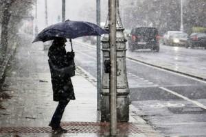 Πτώση της θερμοκρασίας με βροχές, καταιγίδες και χιόνια προβλέπεται σήμερα, Τρίτη!