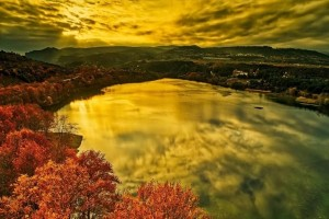Η φωτογραφία της ημέρας: Στιγμιότυπο από την τεχνητή λίμνη Αγίας Βαρβάρας στη Βέροια!