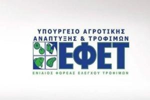 Μεγάλη προσοχή: Έκτακτη ανακοίνωση από τον ΕΦΕΤ!