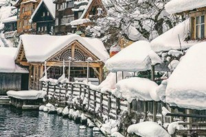 H φωτογραφία της ημέρας: Το πιο όμορφο χιονισμένο τοπίο!