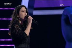 The Voice: Με... ρετρό διάθεση η ερμηνεία της Λεμονιάς Μπέζα! (video)