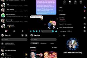 Facebook Messenger: Άρχισαν οι δοκιμές για το dark mode!