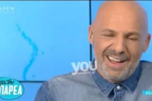 Έπος: Ο Νίκος Μουτσινάς προκάλεσε on air την Μέγκι Ντριο! Δείτε τι είπε on air (video)