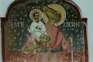Γιατί ο Άγιος Χριστόφορος απεικονίζεται με κεφάλι σκύλου;