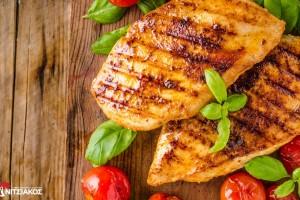 Μετά  τις γιορτές, επιλέγουμε υγιεινή διατροφή με κοτόπουλο και γαλοπούλα Νιτσιάκος
