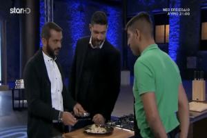 MasterChef: Ο διαγωνιζόμενος που παραλίγο να στείλει ... αδιάβαστους τους κριτές με το πιάτο του! (Βίντεο)