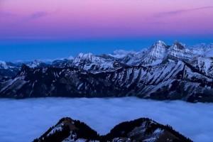 Η φωτογραφία της ημέρας: Ομίχλη στο βουνό Moléson, στο Φριμπούρ της Ελβετίας!
