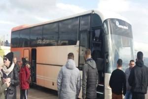 Συναγερμός στα διόδια Αφιδνών: Ατύχημα για πούλμαν από τις Σέρρες που πήγαινε στο συλλαλητήριο!